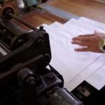 手差し活版印刷機